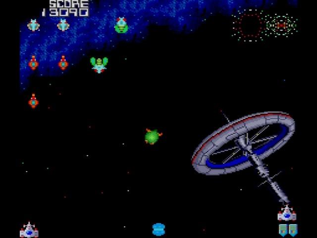 Galaga ?90 on PC Engine / TurboGrafx by Namco