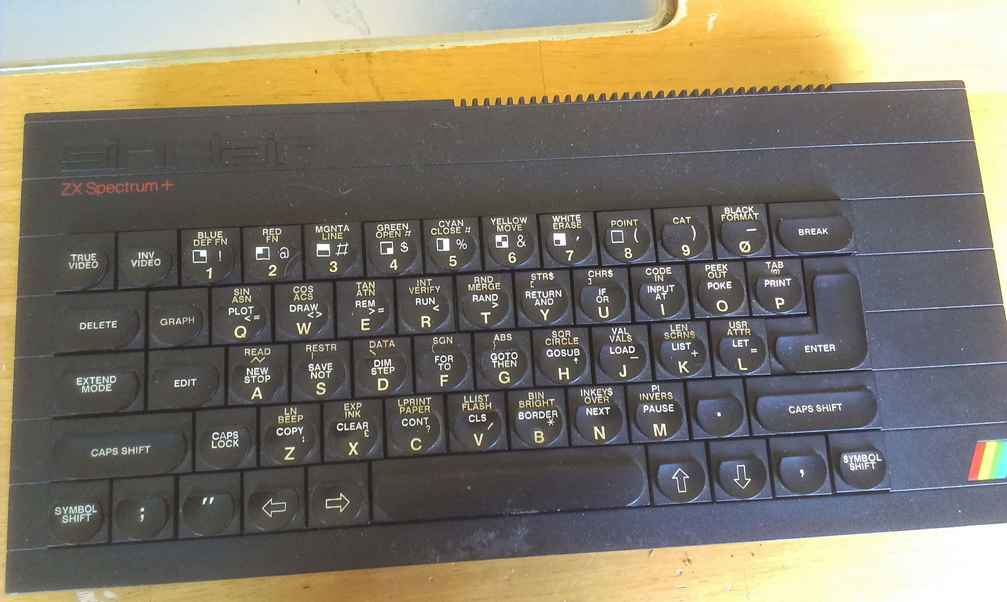 ZX Spectrum back together