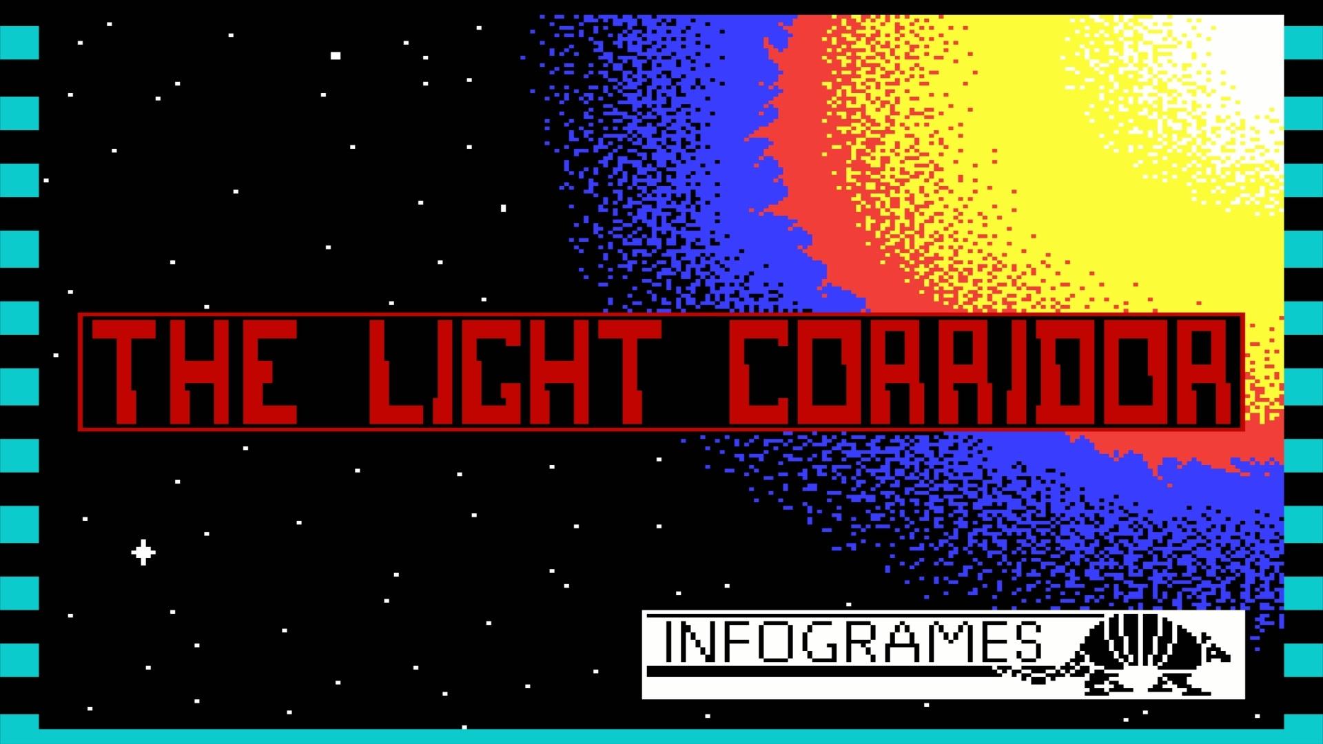 The Light Corridor ZX Spectrum Loading Screen